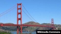 """Мост """"Золотые ворота"""" – один из символов Калифорнии и города Сан-Франциско"""