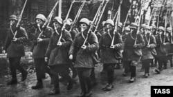 """""""Рабочий батальон"""" Красной Пресни, 1941 год"""