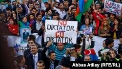 Ադրբեջանական ընդդիմությունը հանրահավաք էր հրավիրել, 12-ը հոկտեմբերի, 2013