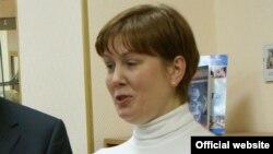 Натальля Шарына - дырэктар Бібліятэкі ўкраінскай літаратуры ў Маскве
