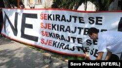 Podgorica: Performans MANS-a ¨Ne šekirajte se¨