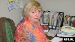 Нина Попова, председатель профсоюза работников образования Темиртау. Октябрь 2009 года.