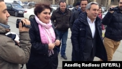 Azerbaijan -- Khadija Ismayil, 19 February 2014.