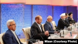 Iranian presidential candidates participated in their last live debate on May 12.