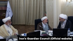 Conservative clerics, many past their 80s and 90s control Iran's Guardian Council, which has the power to disqualify anyone running for a parliamentary seat. File photo.