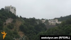 """Armenia - A """"training center"""" for Armenian tax officials is constructed in Dilijan, 14Jul2015."""