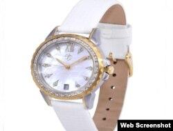 Женские подарочные часы со стразами Svarovski