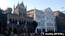 Мумбайда Британия стилендәге архитектура