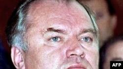 Bosnian Serb commander Ratko Mladic in 1995