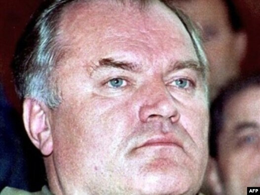 General Ratko Mladić, ratni vođa bosanskih Srba, 15. novembar 1995.