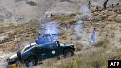 Pamje nga një sulm i mëparshëm i forcave afgane kundër militantëve talibanë