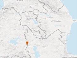 The quake struck the Iranian region of Qotur in West Azerbaijan Province.