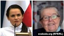 Сьвятлана Ціханоўская і Івонка Сурвілла