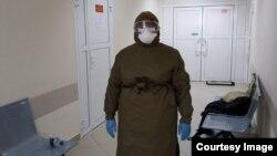 Медработник Ижевского военного госпиталя. Архивное фото