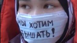 """Бишкек задыхается от грязного воздуха, а и.о. мэра говорит """"Как я остановлю смог?"""""""