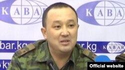 №1 тергөө абагынын мурдагы башчысы Марс Жусупбеков.