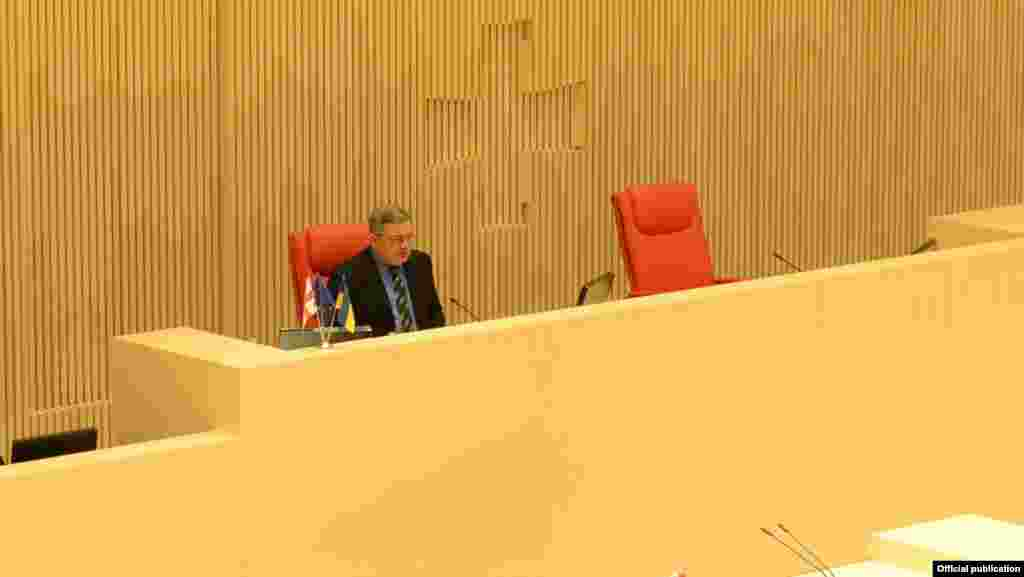 Спікер парламенту Грузії Давіт Усупашвілі попросив і собі
