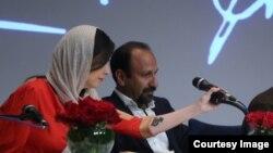 Aktrisa Tərane Əlidusti mətbuat konfransında