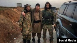 On January 20, a pro-Islamic State account on Twitter shared this photograph of Umar Shishani that it claimed was new. It was likely taken in February 2014, however.