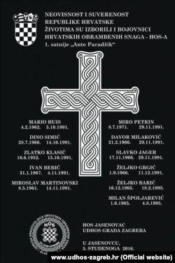Spomen-ploča, Jasenovac
