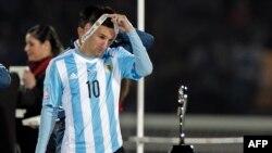 Форвард «Барселоны» и сборной Аргентины Лионель Месси