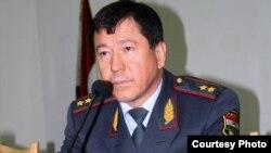 Рамазон Раҳимов, вазири умури дохилии Тоҷикистон.