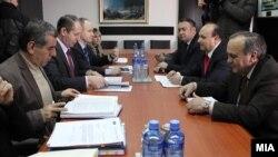 Состанок на Сојузот на синдикатите на Македонија и Регулаторната комисија за енергетика на РМ.