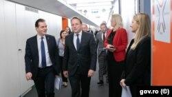 Premierul Ludovic Orban s-a întâlnit cu Oliver Varhelyi, comisar pentru extindere