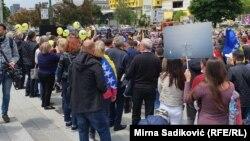 Platforma za progres već je u maju organizovala proteste u Sarajevu