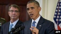 Президент США Барак Обама говорит о изменениях в плане вывода американских войск из Афганистана. Вашингтон, 15 октября 2015 года.