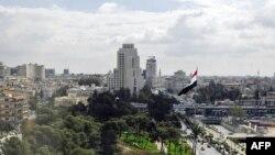 Pamje nga Damasku në Siri