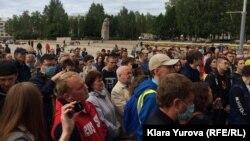 Встреча с избирателями в Сыктывкаре