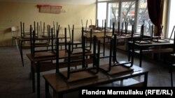 """Pamje nga shkolla, """"Naim Frasheri"""", në Prishtinë"""