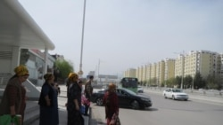 Aşgabat: Abatlanan ýollarda awtobus duralgalary azaldy