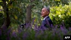 باراک اوباما در «باغ گل سرخ» زمان اجرای توافق پاریس را اعلام کرده است