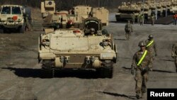 Американський танк «Абрамс»