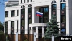 Здание посольства России в Кишиневе.