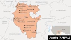 Башкортстан харитасы