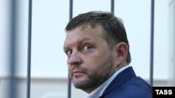 Никита Белых в суде по избранию меры пресечения (архивное фото)