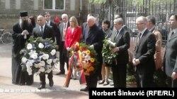 Novi Sad, komemoracija stradalim deportovanim Jevrejima