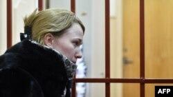 Светлана Кривсун в суде, октябрь 2014 года