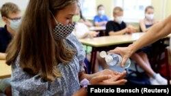 Početak škole u vrijeme pandemije u Njemačkoj, ilustrativna fotografija