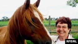 Verena Şolian sevimli atı İnturistlə, sentyabr 2007