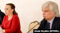 Ганна Канапацкая і Ігар Лялькоў, архіўнае фота