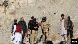 На місці нападу на околиці Кветти, 2 січня 2017 року