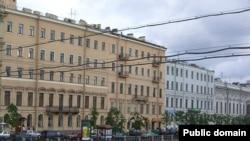 Санкт-Петербургское отделение Математического института имени Стеклова (левое здание). Отсюда уехало на Запад 40% сотрудников.