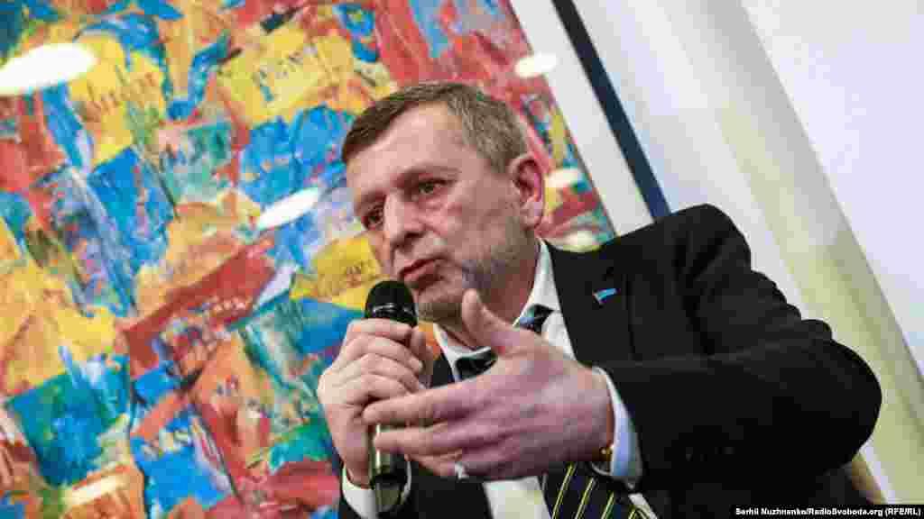 Бывший политзаключенный, заместитель главы Меджлиса крымскотатарского народа Ахтем Чийгоз