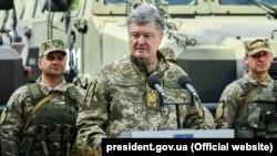 Действующий президент Украины Пётр Порошенко