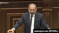 Премьер-министр Армении Никол Пашинян, Ереван, 20 июня 2019 г.