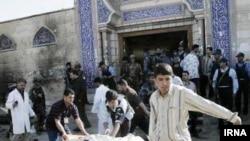 Иран , Самоубиствен напад во близина на џамија